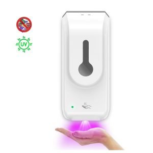 Toprosan™ Public Electronic Hospital Sensor Hand Sanitizer Dispenser, Automatic Spray Alcohol Dispenser, Sensor Dispenser by ValueRays