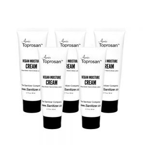 toprosan lotion 5 piece bundle plant based vegan all natural moisturizer moisture cream after sanitizer