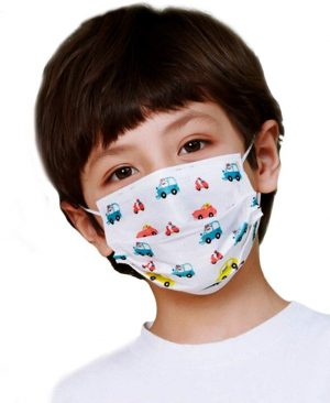 Toprosan Child Disposable Non Medical Face Mask Cars The Sanitizer Company