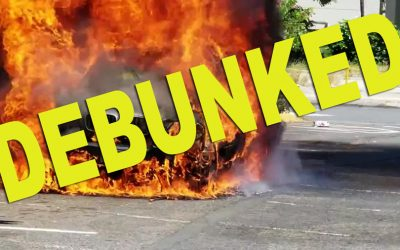 NO!  Sanitizer does NOT cause car fires:  The Sanitizer Company Debunks Explosions