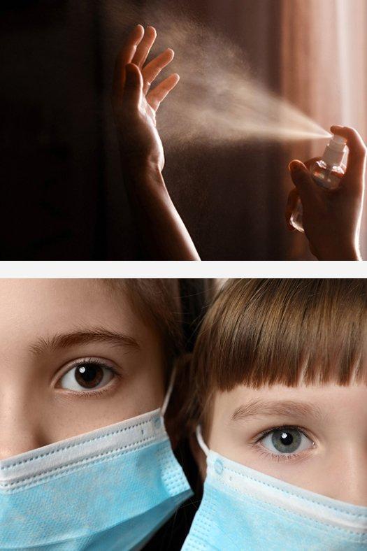 Sanitizer.co The Sanitizer Company Toprosan 75% Alcohol Spray Sanitizer Kills Covid 19