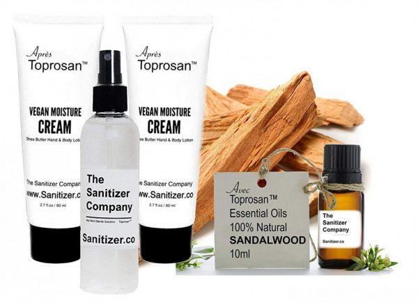 Sanitizer Company 2 Apres Toprosan Organic Shea Butter Moisturizer Lotion Cream