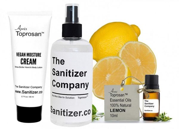 8oz Bottle Unscented Organic Hand Sanitizer Cleaner