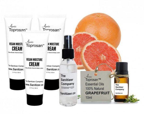 Plant Based Essential Grapefruit Scented Oil