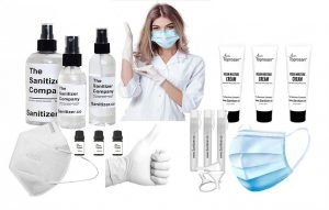 Toprosan Hand Sanitizer Essentials Gift Set for Basket or Box Bundle #2