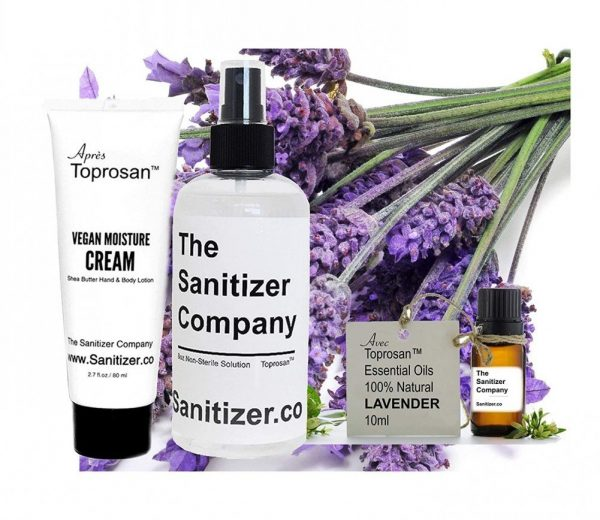 Toprosan Organic Shea Butter Moisturizing Lotion Cream, 8oz Bottle Unscented Organic Hand Sanitizer Cleaner