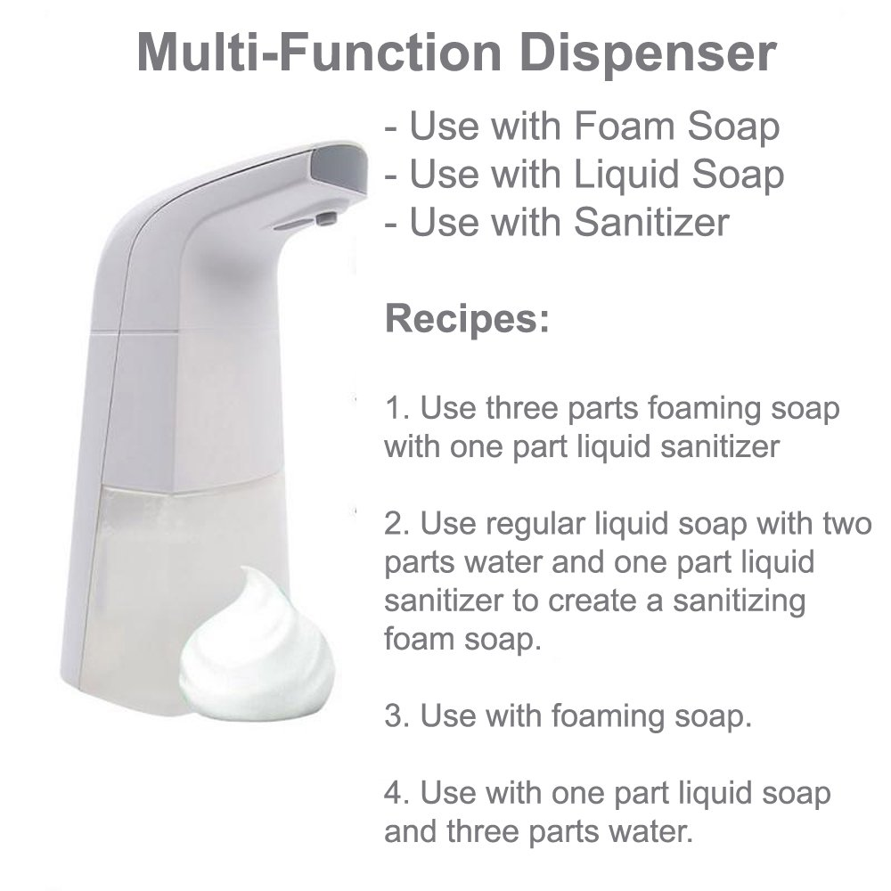 Toprosan™ Automatic Sensor Foaming Liquid Soap and Sanitizer Dispenser by ValueRays®
